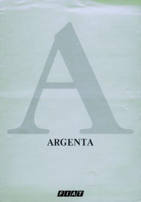 Fiat Argenta Diesel,120ie,turbo Diesel,100