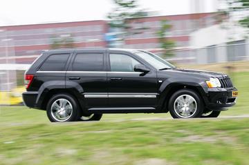 Nieuw: sportieve Jeep Grand Cherokee