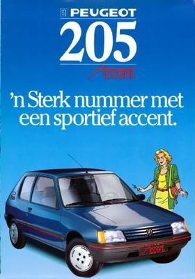 Peugeot Accent 205