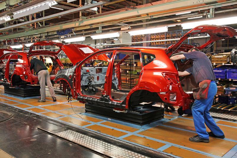 Nissan Qashqai-productie op volle toeren