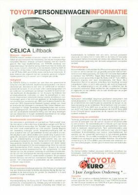 Toyota Celica Liftback,gt,gt Turbo