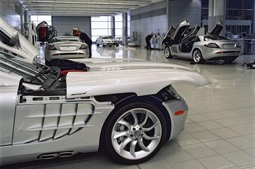 Mercedes stopt volgend jaar met SLR