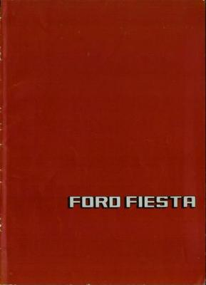 Ford Fordfiesta Supersport,custom,l,gl,ghia,s,