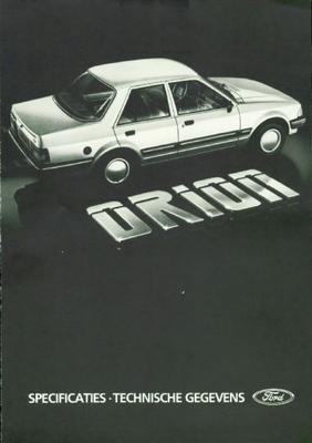 Ford Orion L,gl,injection,ghia