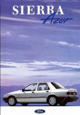 Ford Sierra Azur Sedan, Hatchback, Stationwagen