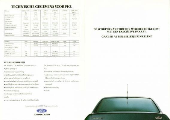 Ford Scorpio Cl,gl