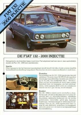 Fiat 132 2000 Injectie