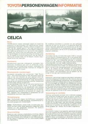 Toyota Celica St,gti,gti Turbo