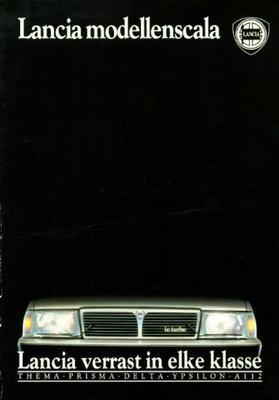 Lancia Thema,prisma,delta,ypsilon,a112 Ie Turbo,16