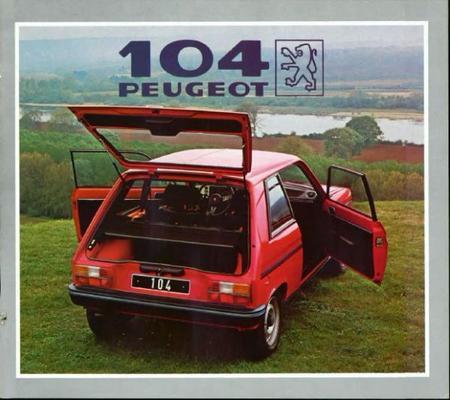 Peugeot  104 Zl,zs