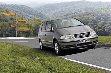 Groene stuiptrekking Volkswagen Sharan