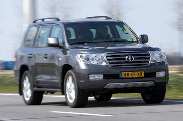 Toyota Land Cruiser V8 4.7 VVT-i Executive (2008)