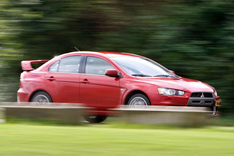 Mitsubishi Lancer Evolution MR (2008)