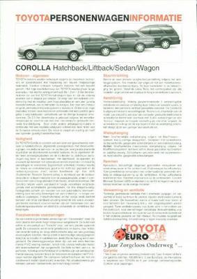 Toyota Corolla Gts,g6,linea,1.3,hb,lb