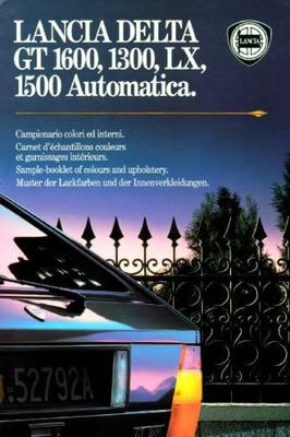 Lancia Delta Gt 1600,1300,lx 1500 Aut