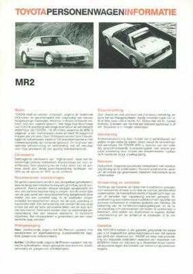 Toyota Mr2 Mr2
