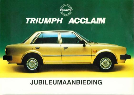 Triumph Acclaim Hl