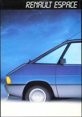 Renault Espace 2000gts,2000tse,turbod,turbodx