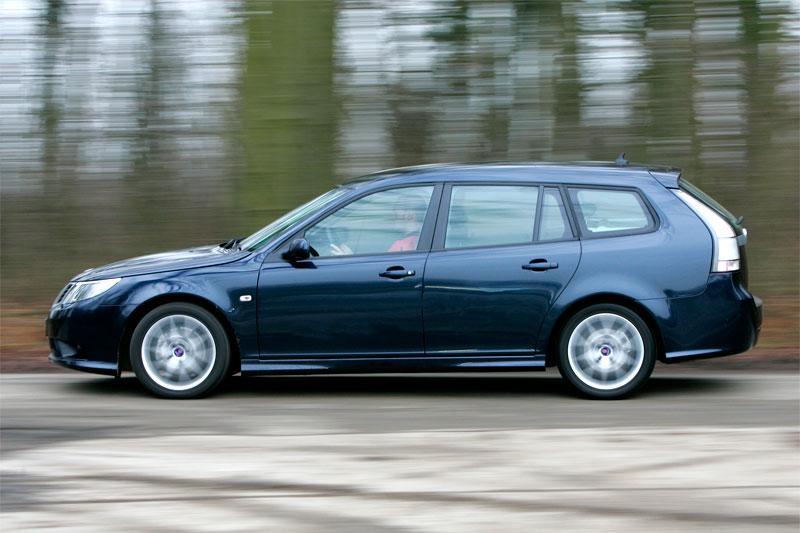 Saab 9-3 Sport Estate 1.9 TTiD 180pk Aero (2008)