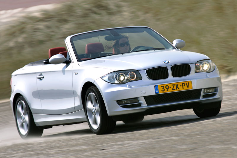 bmw 125i cabrio high executive 2008 autotest. Black Bedroom Furniture Sets. Home Design Ideas
