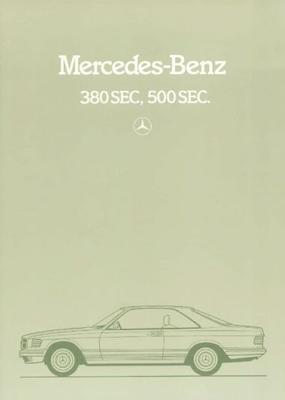 Mercedes-benz 380sec 500sec