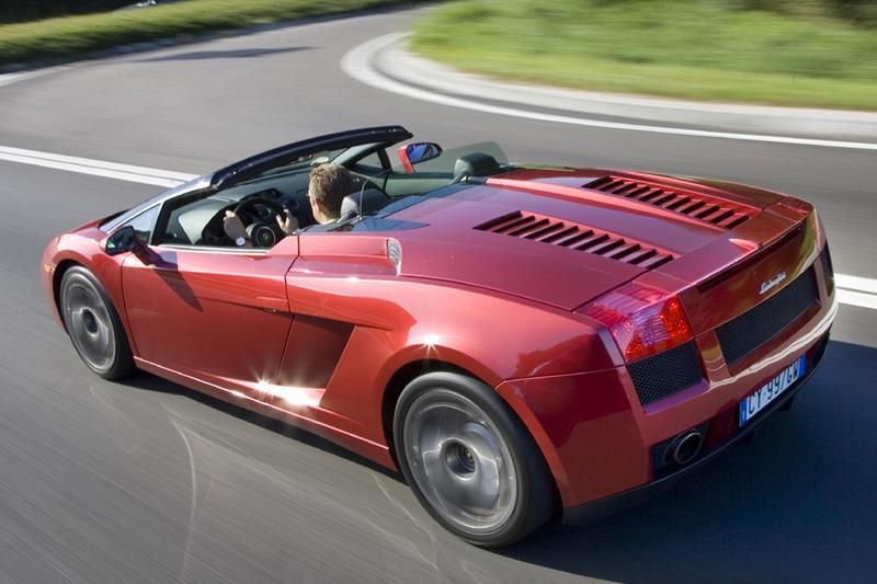 Lamborghini Gallardo Spyder (2007)