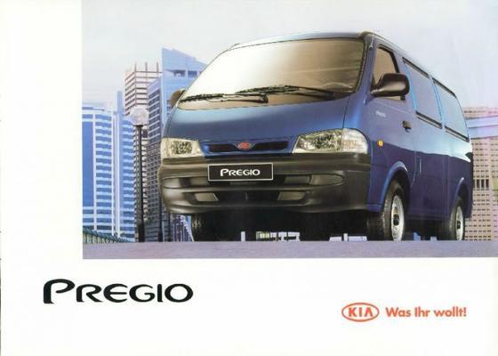 Kia Pregio J2 Diesel,