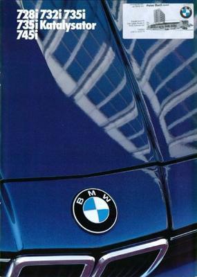 BMW 728i, 732i, 735i, 735i Katalysator,745i