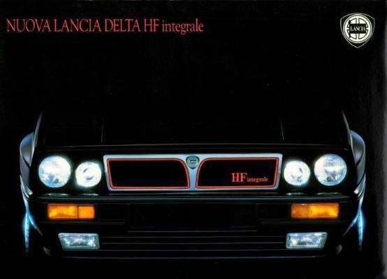 Lancia Delta Hf Integrale Hf