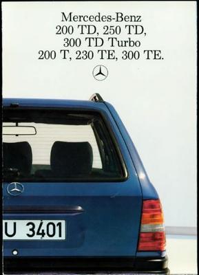 Mercedes-benz 200.250.300.230 Td,td Turbo,t,te
