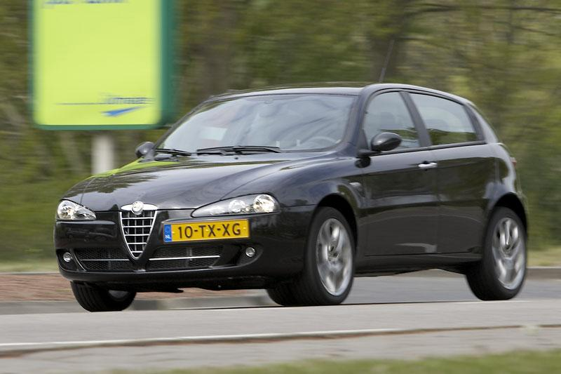 Alfa Romeo 147 1.9 JTDm Blackline (2008)