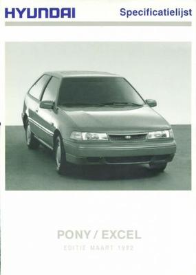 Hyundai Pony Excel ,1.5ls,1.5gs,1.5gs,1.5gls