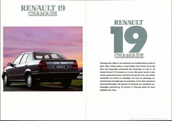 Renault Chamade 19,tr,ts,td,gtr,gts,gtx,gtd,txe