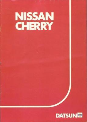 Nissan Cherry Luxe,gl,gl 5bak,gl Automaat