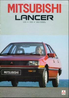 Mitsubishi Lancer El,gl,glx,aut,eld,gld