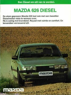 Mazda Sedan,hatchback 626 Diesel