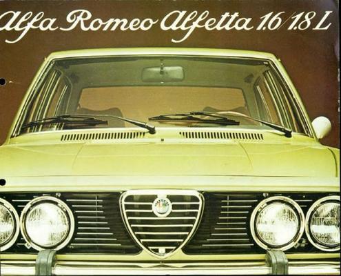 Alfa Romeo Alfetta 1.6,1.8l