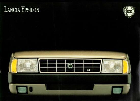 Lancia Ypsilon Fire Ie,fire Lx Ie,gt Ie