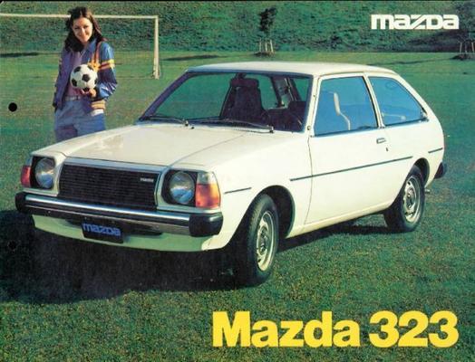 Mazda Sedan,estate 323