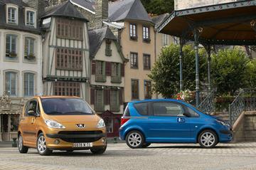 Einde voor Peugeot 1007 en Citroën C2