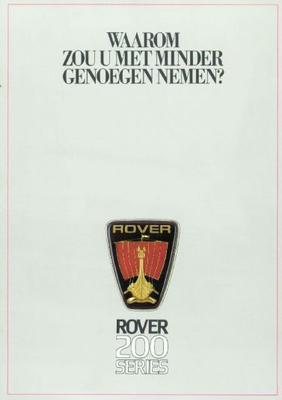 Rover Rover 200 213 S,213 Se,216 S,216 Vitesse
