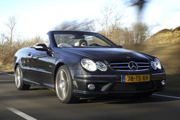 Gereden: Mercedes CLK 63 AMG Cabrio