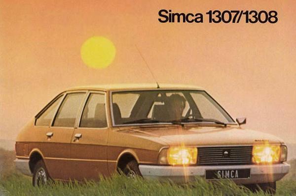 Simca 1307 - 1308 - 1309