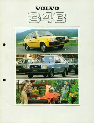 Volvo 343 Luxe,dl,dl Speciaal