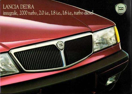 Lancia Dedra,turbo 2.0i.e.,18i.e.,16i.e.,2000