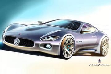 Eerste schetsen Maserati Coupé