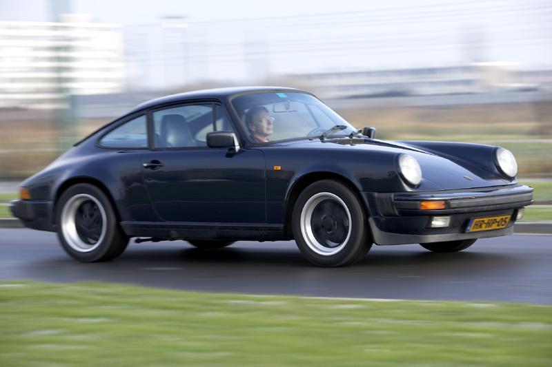 Klokje rond Porsche 911