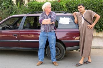 Met een Peugeot 405 GRD Break naar Marokko