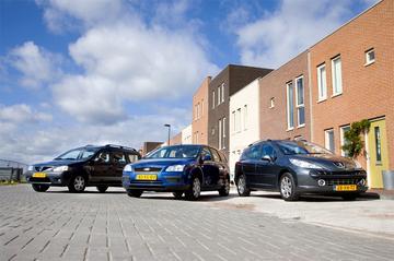 Peugeot 207 SW 1.6-16V VTi / Ford Focus Wagon 1.6 16V / Dacia Logan MCV 1.6 16V