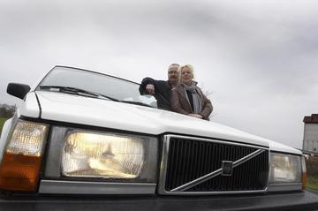 Klokje rond Volvo 740